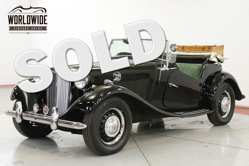 1952 Mg TD CONVERTIBLE 1250CC ENGINE  | Denver, CO | Worldwide Vintage Autos