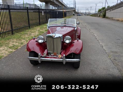 1952 Mg TD Roadster Matching Numbers Older Frame Off Professional Restoration Excellent Driver Must See in Seattle