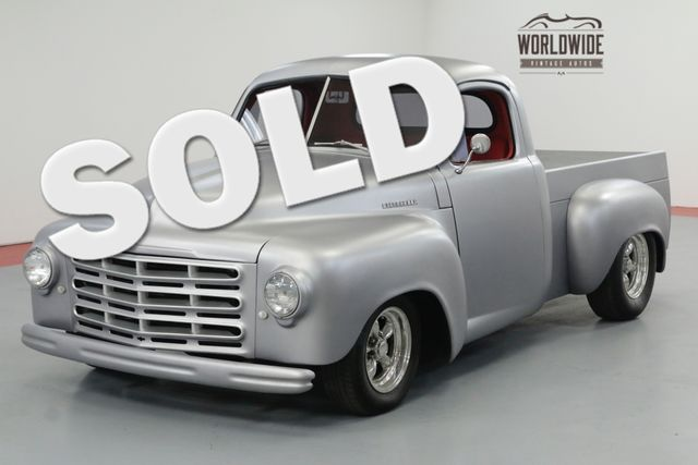 1952 Studebaker PICKUP 2R RESTOMOD TRUCK AC FULLY RESTORED | Denver, CO | Worldwide Vintage Autos in Denver CO