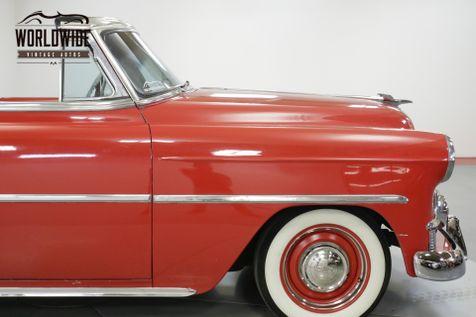 1953 Chevrolet BELAIR CONVERTIBLE CUSTOM BELAIR. V8! AUTO! CHROME | Denver, CO | Worldwide Vintage Autos in Denver, CO