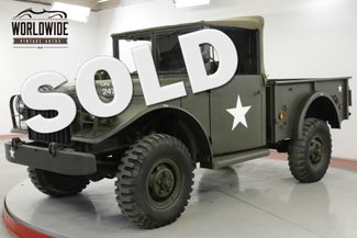 1953 Dodge POWER WAGON M37 RESTORED RARE 3/4 CONVERTIBLE 20K MILES | Denver, CO | Worldwide Vintage Autos in Denver CO