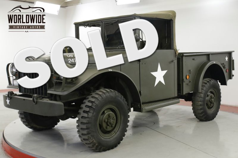 1953 Dodge POWER WAGON M37 RESTORED RARE 3/4 CONVERTIBLE 20K MILES | Denver, CO | Worldwide Vintage Autos