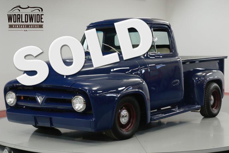 1953 Ford F100 TRUCK FRAME UP RESTORED 302 V8 AUTO. PS. PB.   Denver, CO   Worldwide Vintage Autos
