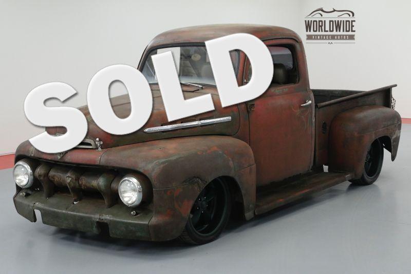 1953 Ford PICKUP RAT ROD. AUTO. PS. PB. DISC. CUSTOM WHEELS.   Denver, CO   Worldwide Vintage Autos