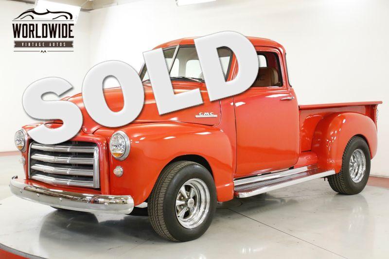 1953 GMC 100 RARE 5 WINDOW RESTORED V8! CHROME WOOD BED PS PB  | Denver, CO | Worldwide Vintage Autos
