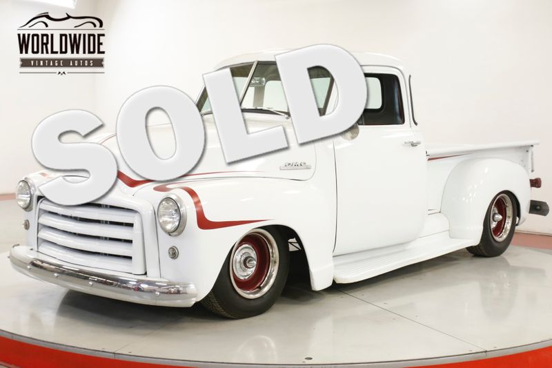 1953 GMC FIVE WINDOW 350 V8 AUTO INDEPENDENT SUSPENSION PS PB | Denver, CO | Worldwide Vintage Autos