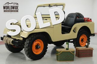 1953 Jeep M38 in Denver CO