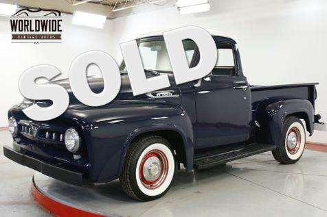 1953 Mercury TRUCK M100 ULTRA RARE FLATHEAD HOT ROD SHORT BED    Denver, CO   Worldwide Vintage Autos in Denver, CO
