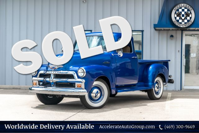 1954 Chevy 3100 FRAME OFF RESTORED AC CUST. INTERIOR VERY NICE! in Rowlett