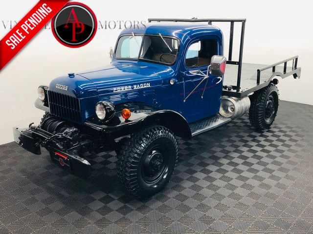 1954 Dodge POWER WAGON DUAL WINCH