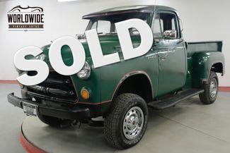 1954 Dodge TRUCK 5 WINDOW 4x4 350 VORTEC V8 PS PB 600 MILES  | Denver, CO | Worldwide Vintage Autos in Denver CO