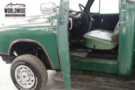 1954 Dodge TRUCK 5 WINDOW 4x4 350 VORTEC V8 PS PB 600 MILES  | Denver, CO | Worldwide Vintage Autos in Denver, CO