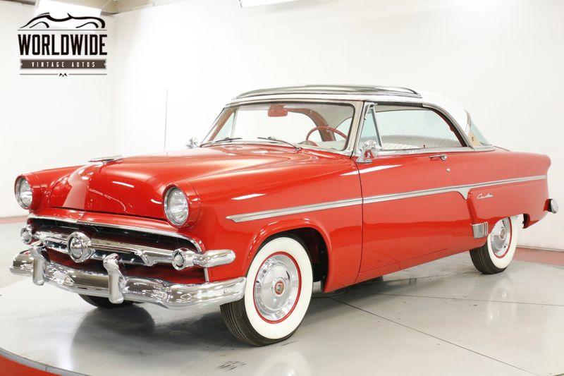 1954 Ford CRESTINE SKYLINE RARE RESTORED V8 MANUAL COLLECTOR  | Denver, CO | Worldwide Vintage Autos