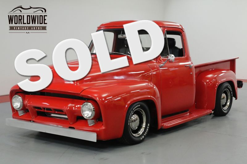 1954 Ford F100 RESTORED! V8 AUTOMATIC BEAUTIFUL! MUST SEE  | Denver, CO | Worldwide Vintage Autos