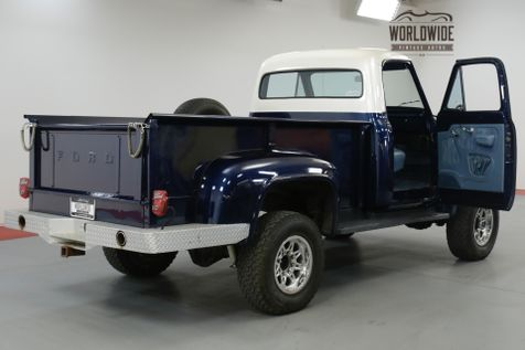 1954 Ford F250 TPI FI 350 V8. AUTOMATIC. 3/4 TON AXLES. 4X4 | Denver, CO | Worldwide Vintage Autos in Denver, CO
