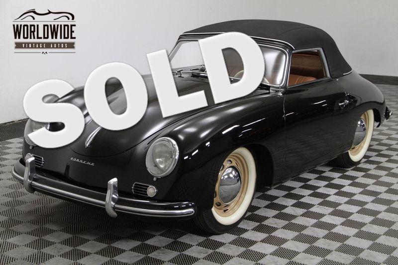 1954 Porsche 356/1500 Super Reutter  Cabriolet. Pre A. Concourse Restoration. | Denver, CO | Worldwide Vintage Autos