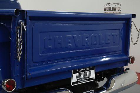 1955 Chevrolet 3100 350V8! AUTO. PS PB 4X4 LIFTED DIGITAL GAUGES | Denver, CO | Worldwide Vintage Autos in Denver, CO