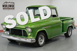 1955 Chevrolet 3100 BIG BACK WINDOW! 350 V8! CUSTOM PAINT.    Denver, CO   Worldwide Vintage Autos in Denver CO