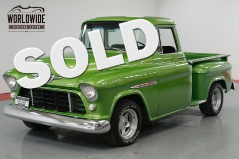 1955 Chevrolet 3100 BIG BACK WINDOW! 350 V8! CUSTOM PAINT.  | Denver, CO | Worldwide Vintage Autos in Denver, CO