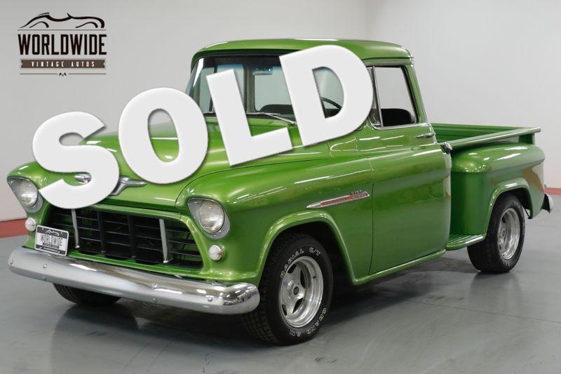 1955 Chevrolet 3100 BIG BACK WINDOW! 350 V8! CUSTOM PAINT.  | Denver, CO | Worldwide Vintage Autos