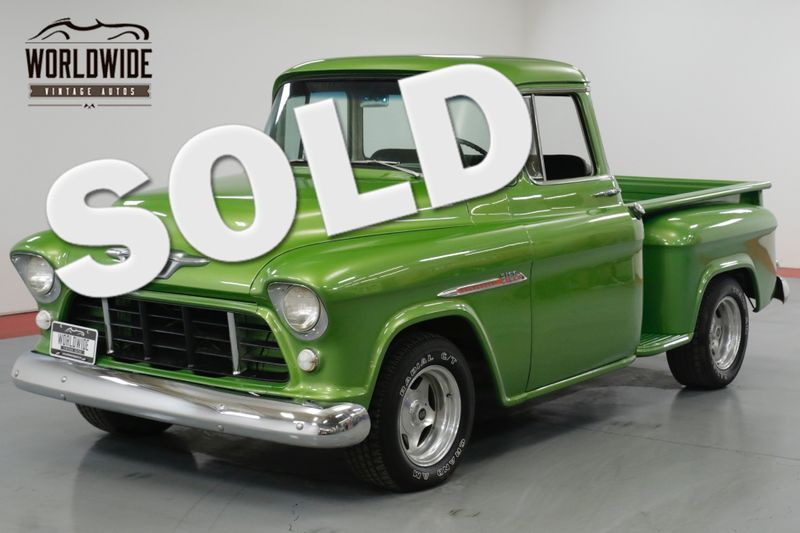 1955 Chevrolet 3100 BIG BACK WINDOW! 350 V8! CUSTOM PAINT.    Denver, CO   Worldwide Vintage Autos