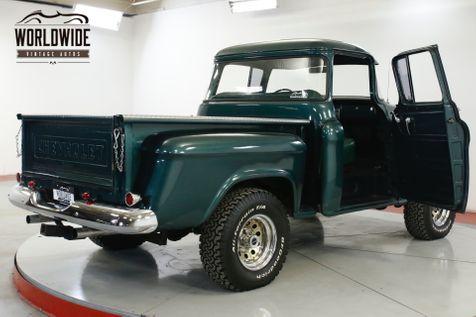 1955 Chevrolet 3100 RARE BIG BACK WINDOW. V8 PS PB. COLLECTOR | Denver, CO | Worldwide Vintage Autos in Denver, CO