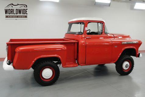 1955 Chevrolet 3600 BIG WINDOW NAPCO 4X4 4-SPEED 350 CIDV8 | Denver, CO | Worldwide Vintage Autos in Denver, CO