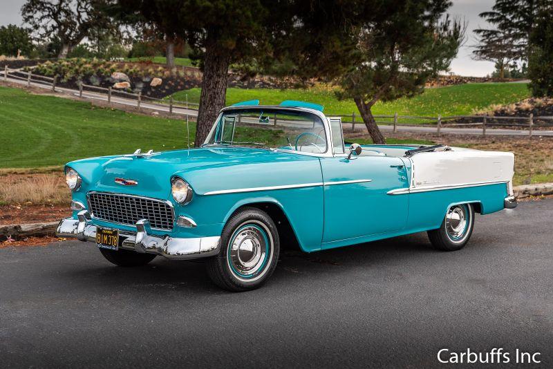 1955 Chevrolet Bel Air Convertible   Concord, CA   Carbuffs