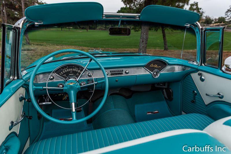 1955 Chevrolet Bel Air Convertible   Concord, CA   Carbuffs in Concord, CA