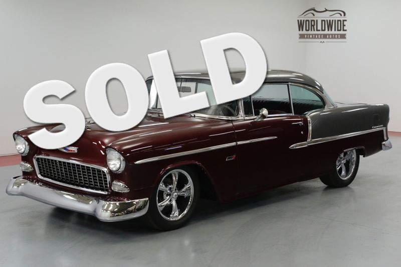 1955 Chevrolet BEL AIR HIGH DOLLAR RESTORATION. LS CONVERSION. AC.   | Denver, CO | Worldwide Vintage Autos