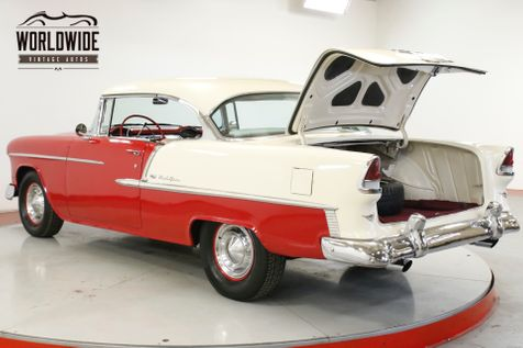 1955 Chevrolet BEL AIR  BEAUTIFUL TWO TONE PAINT V8 NO POST GARAGED  | Denver, CO | Worldwide Vintage Autos in Denver, CO
