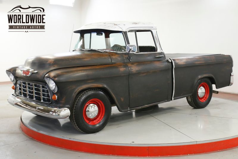 1955 Chevrolet CAMEO HOT ROD FUEL INJECTED V8 PS PB MUSTANG II | Denver, CO | Worldwide Vintage Autos