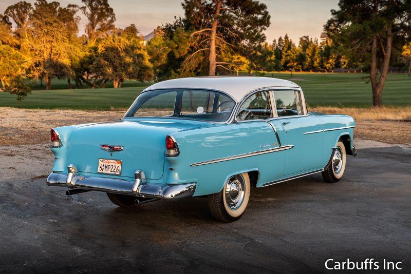 1955 Chevy Bel Air    Concord, CA   Carbuffs in Concord, CA