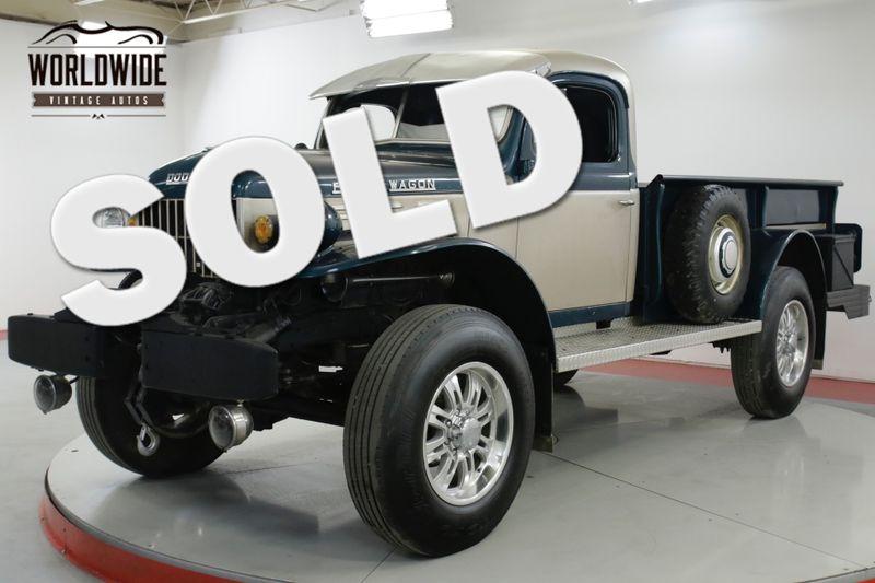 1955 Dodge POWER WAGON  WDX CUSTOM V8 4x4 PS PB WINCH RARE | Denver, CO | Worldwide Vintage Autos