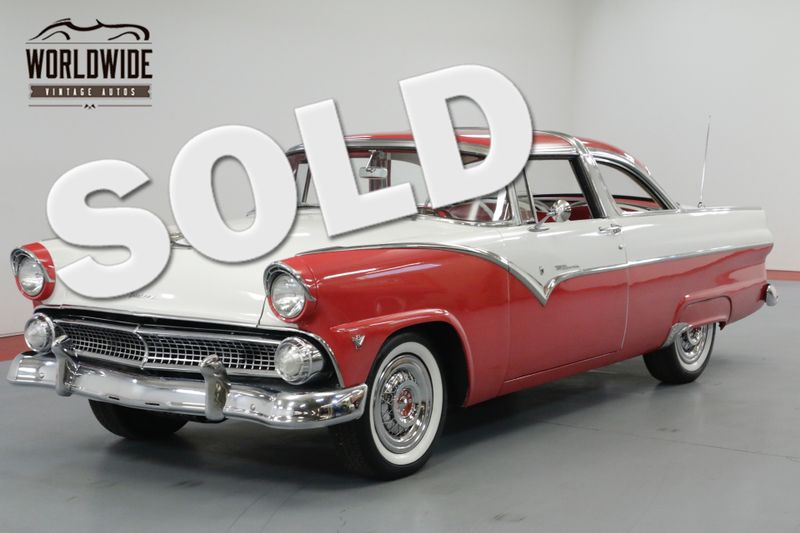 1955 Ford CROWN VICTORIA  RESTORED! EXTREMELY RARE. 272 V8. STUNNING    Denver, CO   Worldwide Vintage Autos