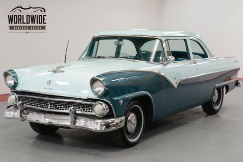 1955 Ford CUSTOMLINE V8. GREAT DRIVER. RARE COLOR COMBO. MUST SEE  | Denver, CO | Worldwide Vintage Autos in Denver, CO