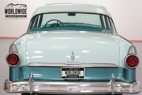 1955 Ford CUSTOMLINE V8. GREAT DRIVER. RARE COLOR COMBO. MUST SEE  | Denver, CO | Worldwide Vintage Autos in Denver, CO