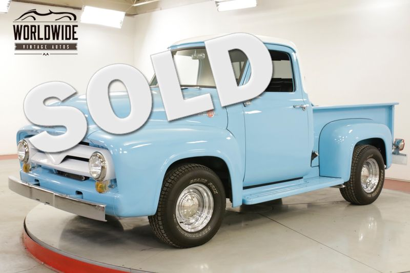 1955 Ford F100 302 V8 AUTO .5 TON SHORTBOX READY FOR SUMMER | Denver, CO | Worldwide Vintage Autos