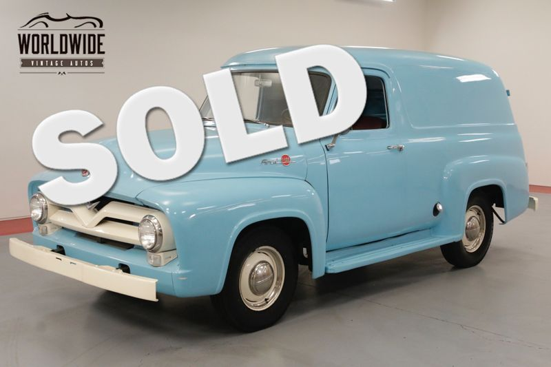 1955 Ford PANEL EXTREMELY RARE. V8! RESTORED. COLLECTOR GRADE. | Denver, CO | Worldwide Vintage Autos