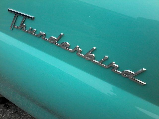 1955 Ford Thunderbird Convertible Boerne, Texas 41