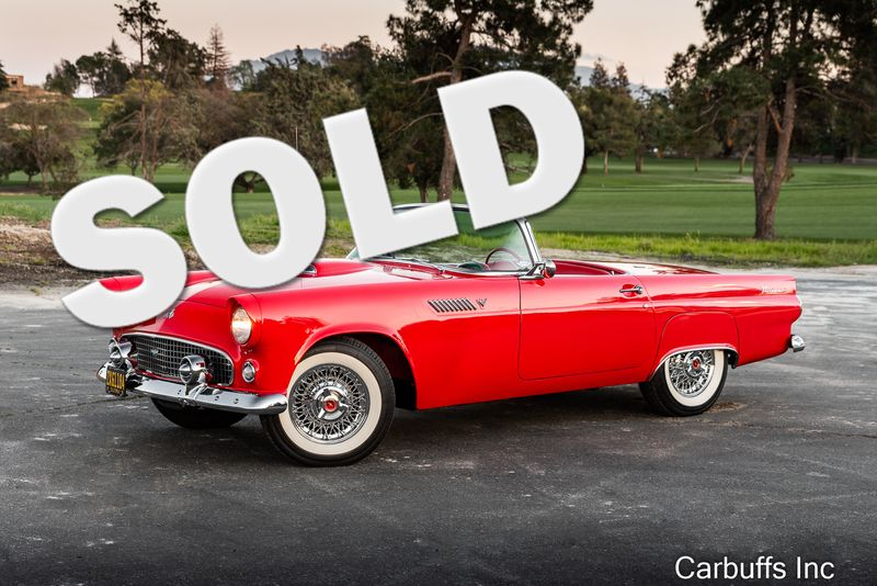 1955 Ford Thunderbird Roadster | Concord, CA | Carbuffs