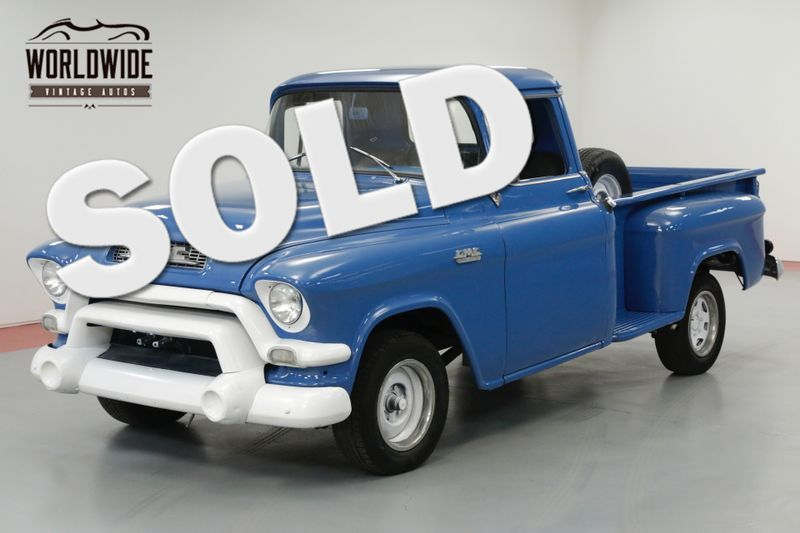 1955 GMC 100 SHORTBOX 1/2 TON PICKUP AUTOMATIC MUST SEE | Denver, CO | Worldwide Vintage Autos