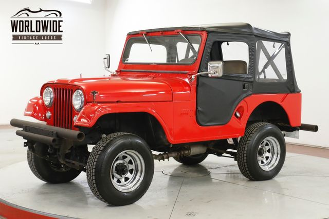 1955 Jeep CJ-5  4X4 BRAND NEW CONVERTIBLE TOP AND DOORS  | Denver, CO | Worldwide Vintage Autos in Denver CO