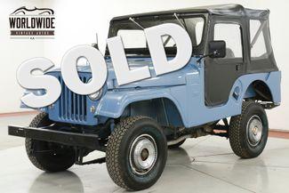 1955 Jeep CJ5 in Denver CO