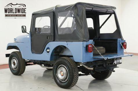1955 Jeep CJ5 RESTORED 4X4 CONVERTIBLE TOP BUICK V6 4SPD  | Denver, CO | Worldwide Vintage Autos in Denver, CO