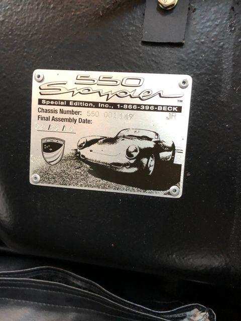 1955 Porsche 550 Spyder Convt Houston, Texas 28