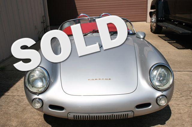 1955 Porsche 550 Spyder Convt Houston, Texas 0