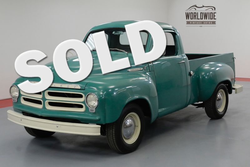 1955 Studebaker PICKUP RESTORED! V8! VERY RARE E7! OVERDRIVE! DISC | Denver, CO | Worldwide Vintage Autos
