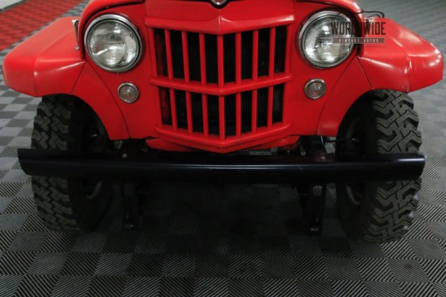 1955 Willys PICKUP 1/2 TON 235CID INLINE 6 CYL. 12 VOLT 4X4: CALL 1-877-422-2940! FINANCING! WORLD WIDE SHIPPING. CONSIGNMENT. TRADES. FORD
