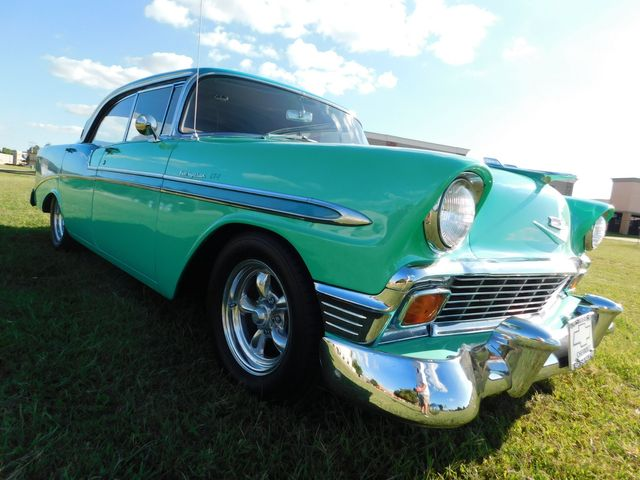 1956 Bel Air HARDTOP CUSTOM FUEL INJECTION in Mustang, OK 73064